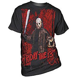 Friday The 13th Jason Voorhees Fans Black T-Shirt