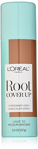 L'Oreal Paris Hair Color Root Cover Up Dye, Light to Medium Brown, 2 Ounce