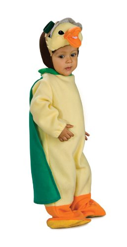 Wonder Pets Bunting And Headpiece Costume Ming-Ming Duckling, Ming-Ming Print, 6-12 Months