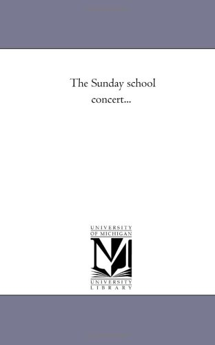 The Sunday School Concert... front-621695