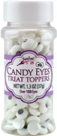 Festival Candy Eyes Treat Toppers, 1.3 Ounce