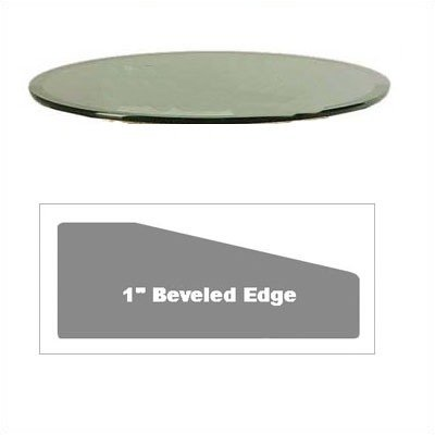 Cheap Grace Collection – 42″ Round Beveled Glass Table Top (GL42RDB)