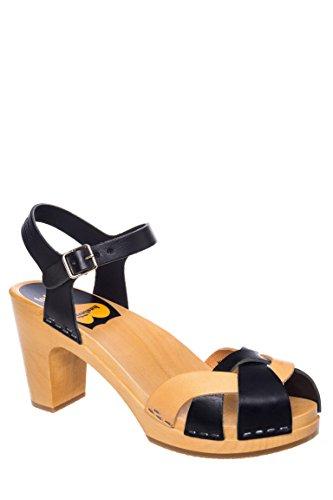 Kringlan Mid Heel Clog Sandal