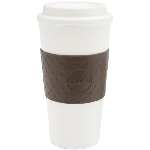 Copco 2510-9963 Acadia Reusable To-Go Mug, 16-Ounce Capacity, Brown