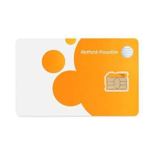 ATT 3G プリペイド Micro SIMカード SKU 72288