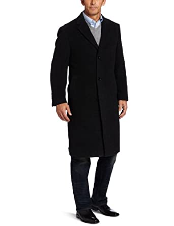 Calvin Klein Men's Traditional Coat, Charcoal, 44 Regular