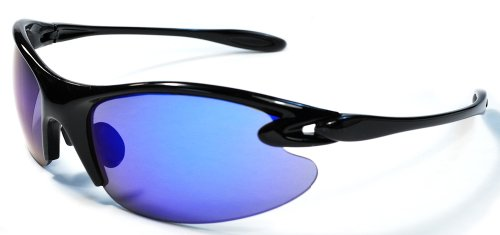 Sport Wrap Sunglasses RV17 Mirror lens Colors Golf, Cycling, Running