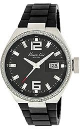 Kenneth Cole Synthetic Black Dial Women's Watch #KC4812