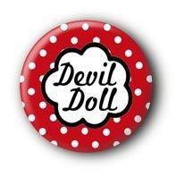 Devil Doll Button Ansteckbutton (2,5cm)
