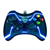 TRON (BLUE) Wired Controller for Xbox 360 Collector's Edition