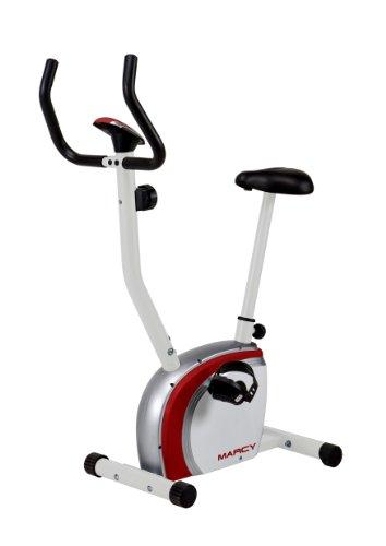 Marcy Upright Exercise Bike, White