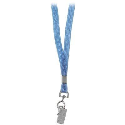 Cheap Basic Lanyard Color: Blue (6045-BLU)