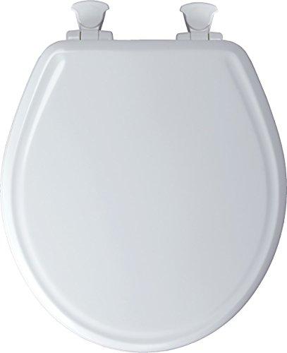 Mayfair Round Toilet Seat Molded Durable Multi Coat Enamel W