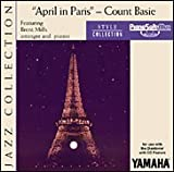 img - for April in Paris - Count Basie - (for CD-compatible modules) - Count Basie - PianoSoft Media book / textbook / text book