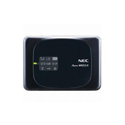 NEC LTEモバイルWiFiルーター Aterm MR02LN PA-MR02LN5B ブラック