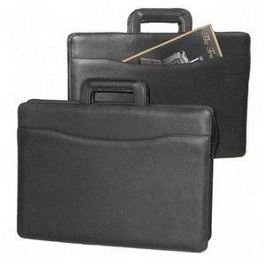 Tri-Pocket Tufide® Portfolio, 16-1/4W X 4D X 12H, Black (Stb251210Blk)