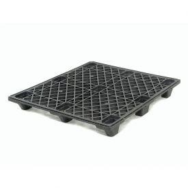 Nestable Shipping Plastic Pallet 48x40 1200 Lb. Capacity - Pkg Qty 10