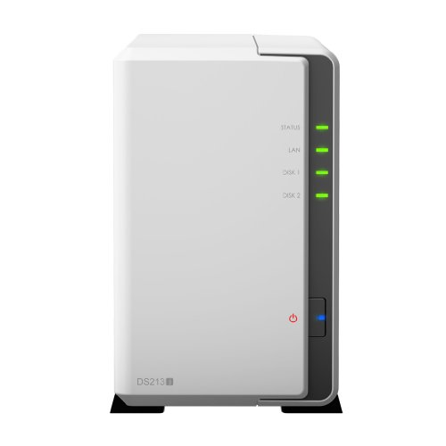 Synology DS213J NAS, Bianco