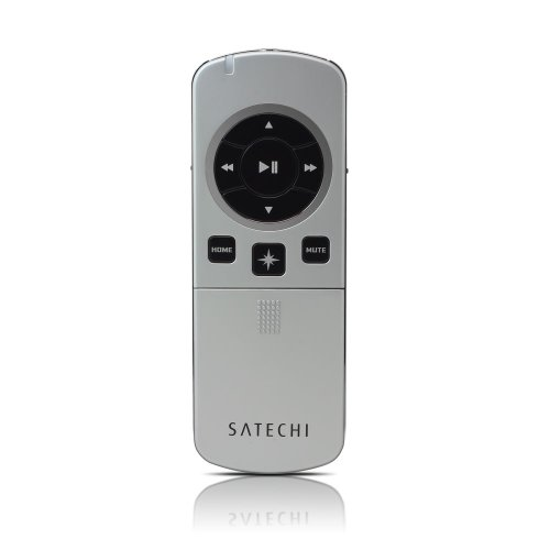 Satechi Bluetooth Smart Pointer Mobile Presenter (Silver) And Remote Control For Iphone, Ipad, Ipod Touch, Samsung Galaxy S3, S4, S5 Note 2 & Imac, Macbook Air, Macbook Pro, Macbook, Mac Mini And Apple Tv 3(6.1)