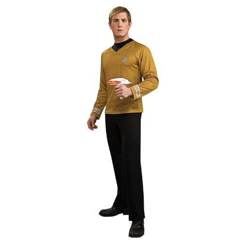 Star Trek Gold Star Fleet Uniform Shirt, Gold