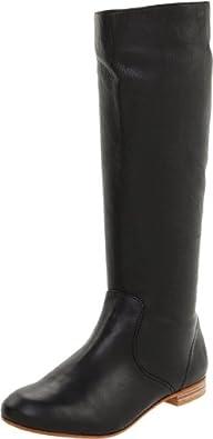 FRYE Women's Jillian Pull-On Boot, Black, 5.5 M US