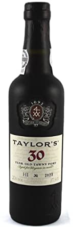 Taylor's 30 Year Old Tawny Port 37.5CL, Luxury Retirement, Corporate, Thank You, Wedding Anniversary Gifts, 30th Birthday Presents for Him Men Dad Husband Son Brother Grandad
