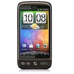 HTC Desire Smartphone (9,4 cm (3,7 Zoll) 5 Megapixel Kamera, Touchscreen) grau mit T-Mobile Branding