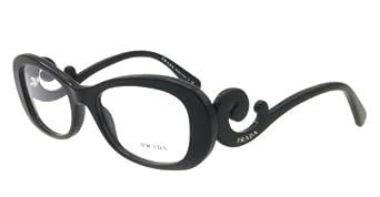 Prada PR09PV Eyeglasses-1AB/1O1 Black-52mm