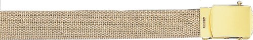 Rothco Plus Military Web Belts, Gov Khaki, 44'' (Direct Gov compare prices)
