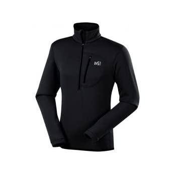 MILLET Power strech polartec Micropolaire 1/2 zip noir