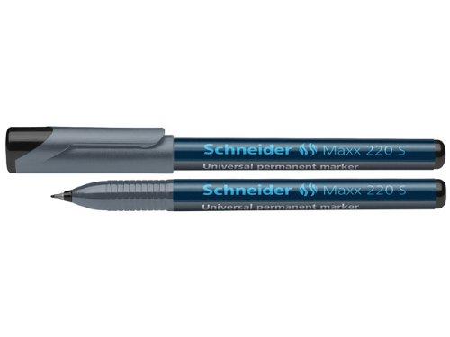 Schneider 220 Feutre pour rétroprojecteur S/permanent Noir Lot de 10