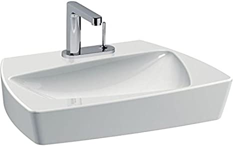 Ideal Standard Basin SIMPLYU T0974 Width 65 cm 1 Tap Hole-White