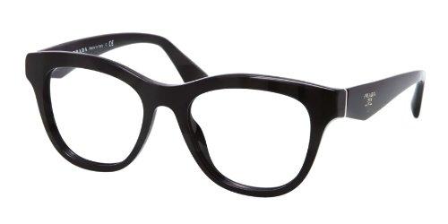 pradaPrada PR04QV Eyeglasses-1AB/1O1 Black-51mm