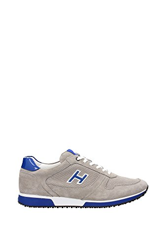HXM1980T850C50234N-Hogan-Sneakers-Men-Suede-Gray