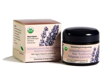 Aromatherapeuic Organic Hair Treatment - Bulgarian Lavender