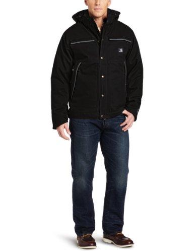 Carhartt Men'S Mankato Jacket, Black, Medium