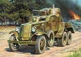 ズベズダ #ZV6149/ 1/100 BA-10 ソビエト装甲車