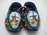 Wooden Shoe Dutch Landscape Design Blue (3.25