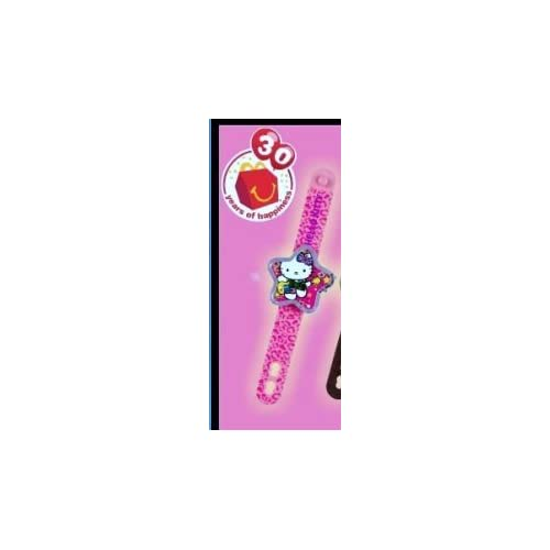 Happy Meal Sanrio Hello Kitty Pink Star Watch 2009