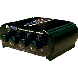 "ART SPLITMix4 - 4-Channel 1/4"" Stereo Input Passive Splitter / Mixer by ART"