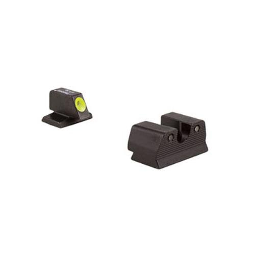 Fnh Trijicon Hd .45Acp Front Outline Night Sight Set, Yellow