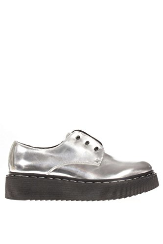 CLE102722.slip on eagle low 1244.Argento.38