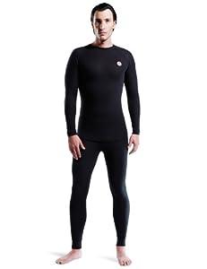 Nebulus Q001 Teight Sous-vêtements techniques de ski homme Noir S