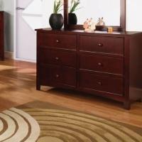 Furniture of America CM7905 Dresser Cherry