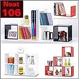 ディスプレイケース Neat106 ホワイト(6P) bc1891