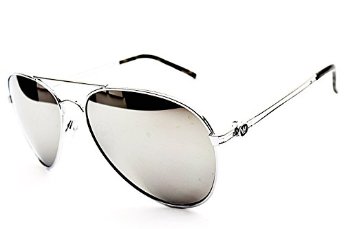 Image of Outray Men's Or Women's Aviator Sunglasses BT10 Mirrored