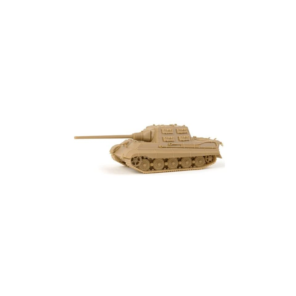 Herpa Military HO Former German Army WWII Armored Vehicles Tank DestroyerSdKfz 186 Jagdtiger (Hunting Tiger) w/128mm Pak 80 Cannon