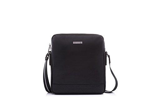 bonia-black-velvet-shoulder-bag