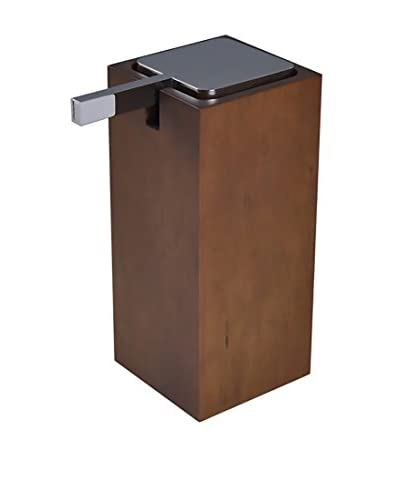 Gedy by Nameek's Cubico Soap Dispenser PA80-31, Brown