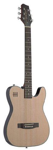 James Neligan Ew3000Cn 4/4 Model Electric Solid Body Folk Guitar With Cutaway